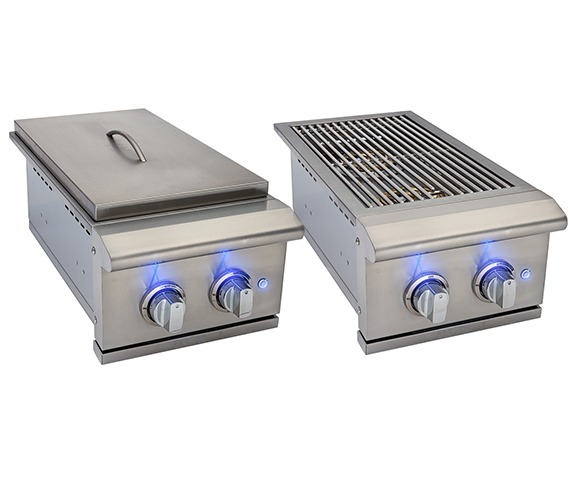 Cincinnati Grilling System - Accessories Double Side Burner